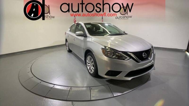 2017 Nissan Sentra for sale at AUTOSHOW SALES & SERVICE in Plantation FL