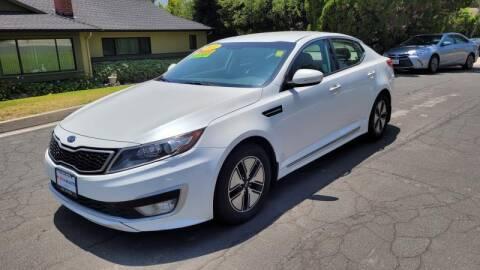 2011 Kia Optima Hybrid for sale at CAR CITY SALES in La Crescenta CA