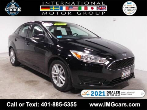 2018 Ford Focus for sale at International Motor Group in Warwick RI