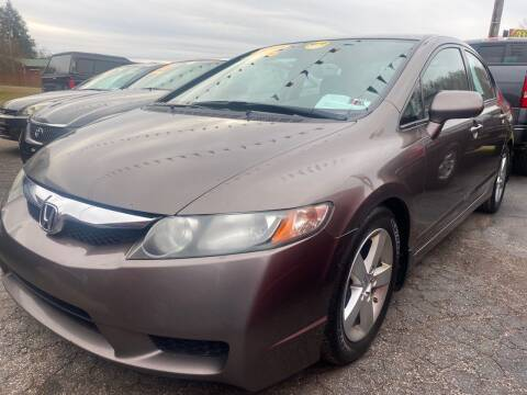 2010 Honda Civic for sale at WINNERS CIRCLE AUTO EXCHANGE in Ashland KY