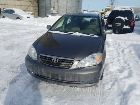 2007 Toyota Corolla for sale at Craig Auto Sales in Omro WI