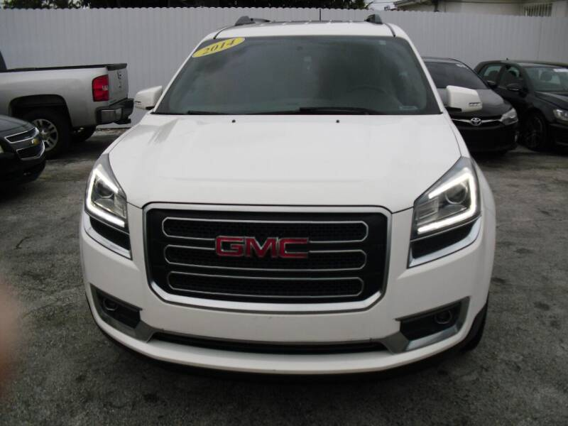 2014 GMC Acadia for sale at SUPERAUTO AUTO SALES INC in Hialeah FL