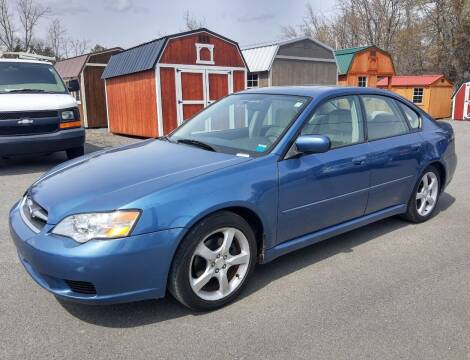 2007 Subaru Legacy for sale at GREENPORT AUTO in Hudson NY