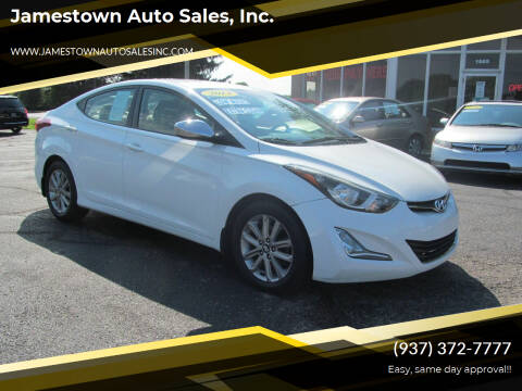 2014 Hyundai Elantra for sale at Jamestown Auto Sales, Inc. in Xenia OH