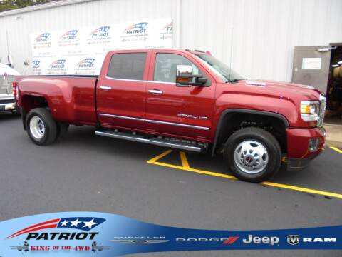 2018 GMC Sierra 3500HD for sale at PATRIOT CHRYSLER DODGE JEEP RAM in Oakland MD