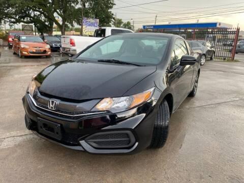 2015 Honda Civic for sale at Sam's Auto Sales in Houston TX