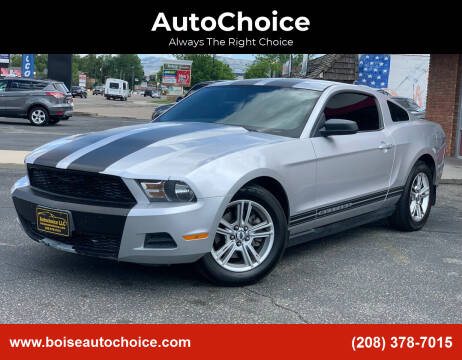 2012 Ford Mustang for sale at AutoChoice in Boise ID