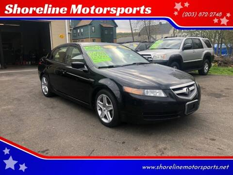 2004 Acura TL for sale at Shoreline Motorsports in Waterbury CT