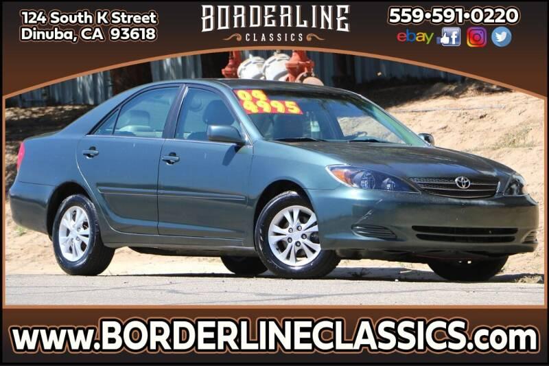 2004 Toyota Camry for sale at Borderline Classics in Dinuba CA