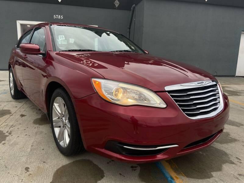 2012 Chrysler 200 for sale at Julian Auto Sales, Inc. in Warren MI