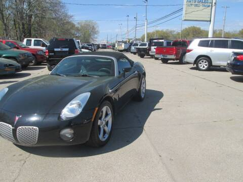 2006 Pontiac Solstice for sale at Jims Auto Sales in Muskegon MI