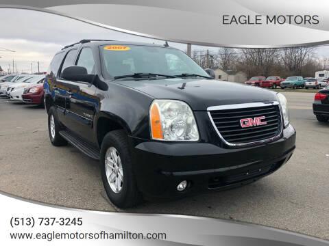 2007 GMC Yukon for sale at Eagle Motors in Hamilton OH