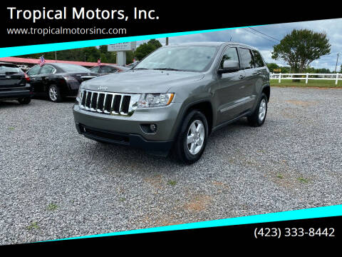 2012 Jeep Grand Cherokee for sale at Tropical Motors, Inc. in Riceville TN