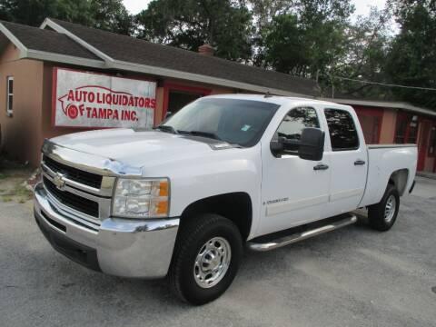 2007 Chevrolet Silverado 2500HD for sale at Auto Liquidators of Tampa in Tampa FL