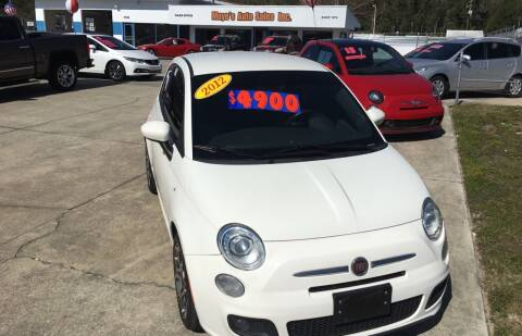 2012 FIAT 500 for sale at Moye's Auto Sales Inc. in Leesburg FL