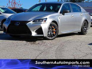 2016 Lexus GS F for sale at Used Imports Auto - Southern Auto Imports in Stone Mountain GA