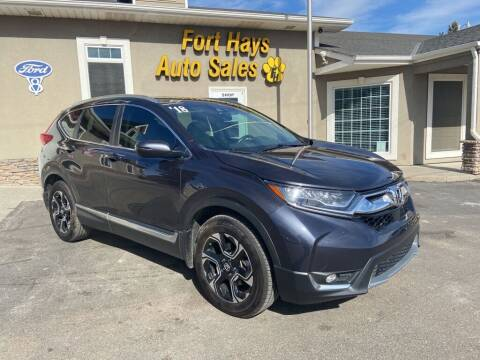 2018 Honda CR-V for sale at Fort Hays Auto Sales in Hays KS