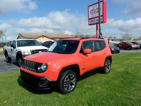 2015 Jeep Renegade for sale at DAVE KNAPP USED CARS in Lapeer MI