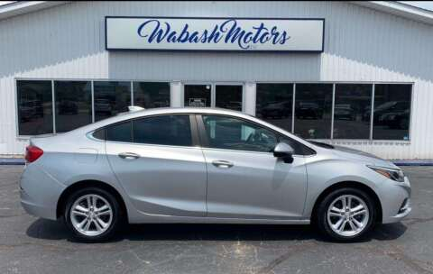 2015 Chevrolet Cruze for sale at Wabash Motors in Terre Haute IN