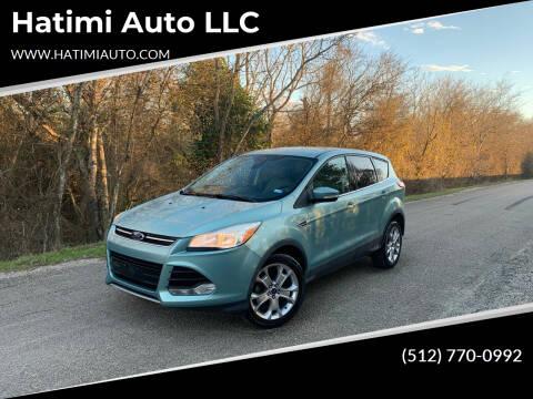 2013 Ford Escape for sale at Hatimi Auto LLC in Buda TX