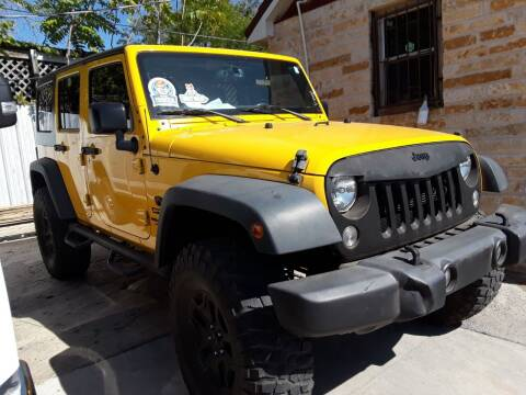 2015 Jeep Wrangler Unlimited for sale at Speedway Motors TX in Fort Worth TX