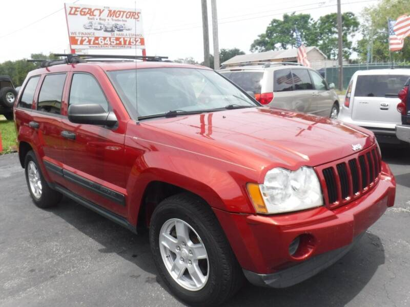 2006 Jeep Grand Cherokee for sale at LEGACY MOTORS INC in New Port Richey FL