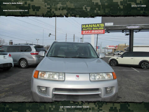 2005 Saturn Vue for sale at Hanna's Auto Sales in Indianapolis IN