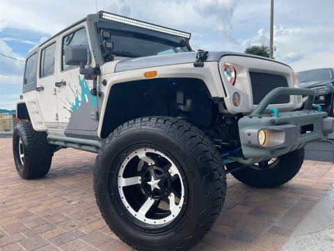 2015 Jeep Wrangler Unlimited for sale at Cars of Tampa in Tampa FL