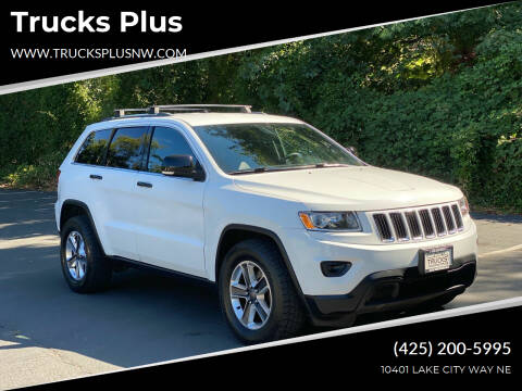 2014 Jeep Grand Cherokee for sale at Trucks Plus in Seattle WA