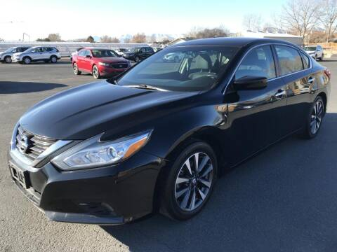 2017 Nissan Altima for sale at INVICTUS MOTOR COMPANY in West Valley City UT