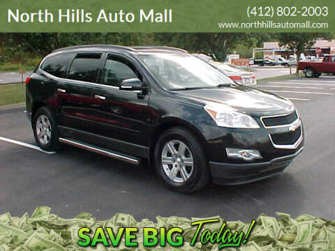 2011 Chevrolet Traverse for sale at North Hills Auto Mall in Pittsburgh PA
