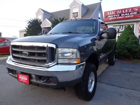 2003 Ford F-350 Super Duty for sale at Michael's Auto Sales in Derry NH