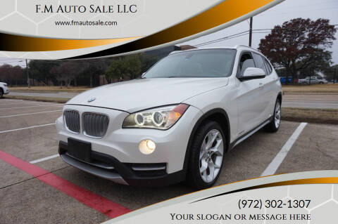 2014 BMW X1 for sale at F.M Auto Sale LLC in Dallas TX