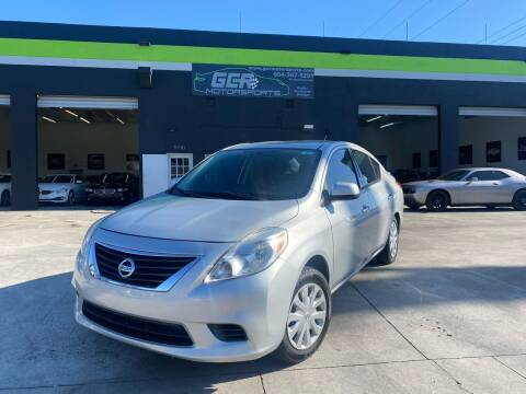 2014 Nissan Versa for sale at GCR MOTORSPORTS in Hollywood FL