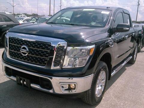 2017 Nissan Titan for sale at MG Auto Center LP in Lake Park FL