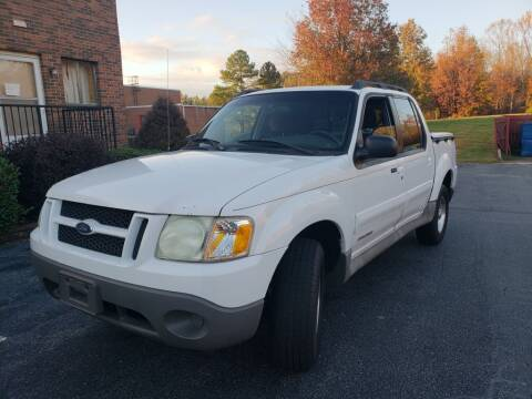2001 Ford Explorer Sport Trac for sale at ARA Auto Sales in Winston-Salem NC