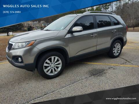 2011 Kia Sorento for sale at WIGGLES AUTO SALES INC in Mableton GA