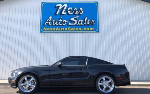 2013 Ford Mustang for sale at NESS AUTO SALES in West Fargo ND