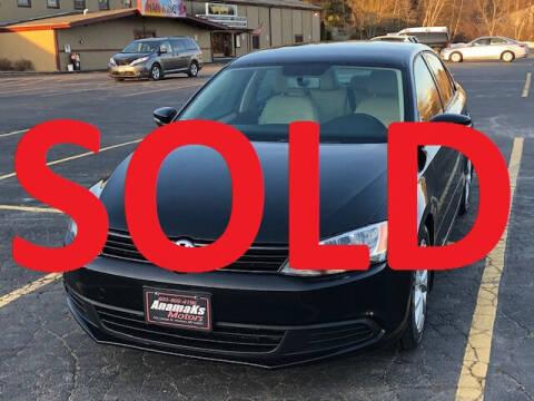 2012 Volkswagen Jetta for sale at Anamaks Motors LLC in Hudson NH
