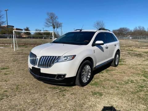 2014 Lincoln MKX for sale at LA PULGA DE AUTOS in Dallas TX