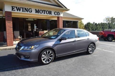 2015 Honda Accord for sale at Ewing Motor Company in Buford GA