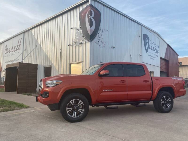 2017 Toyota Tacoma for sale at Barrett Auto Gallery in San Juan TX