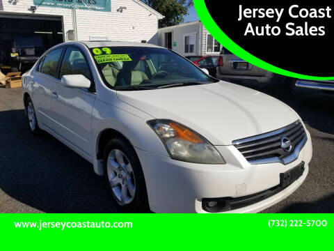 2009 Nissan Altima for sale at Jersey Coast Auto Sales in Long Branch NJ
