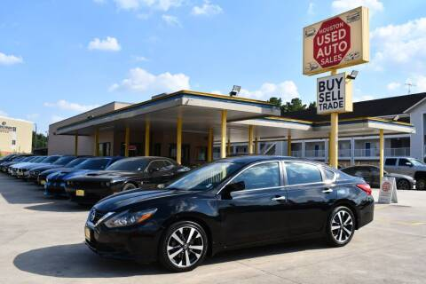 2016 Nissan Altima for sale at Houston Used Auto Sales in Houston TX