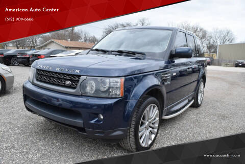 2011 Land Rover Range Rover Sport for sale at American Auto Center in Austin TX
