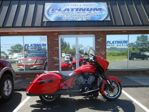 2014 Victory Cross Country for sale at Platinum Auto World in Fredericksburg VA