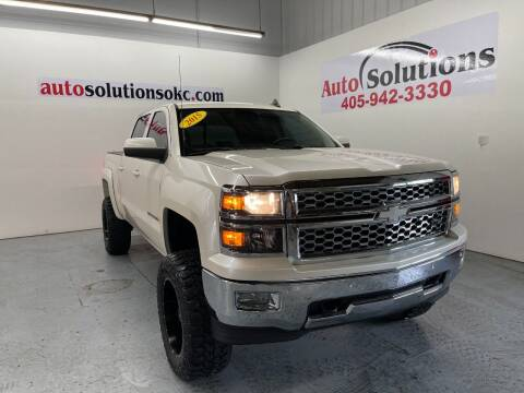 2015 Chevrolet Silverado 1500 for sale at Auto Solutions in Warr Acres OK