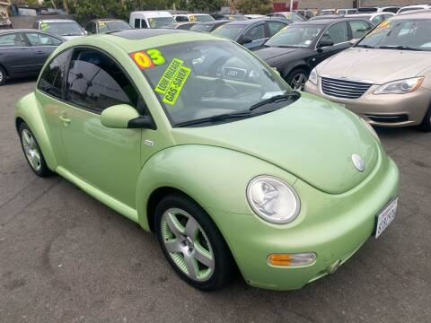 2003 Volkswagen New Beetle for sale at North County Auto in Oceanside CA