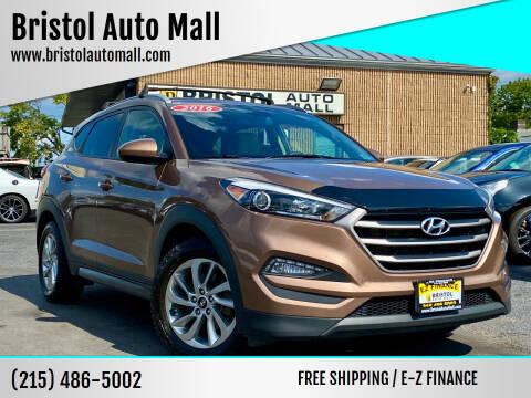 2016 Hyundai Tucson for sale at Bristol Auto Mall in Levittown PA