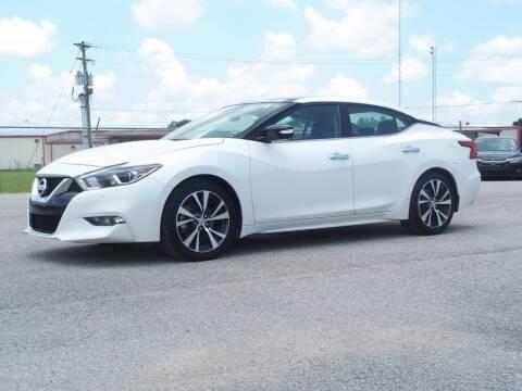 2017 Nissan Maxima for sale at Courtesy Value Pre-Owned I-49 in Lafayette LA